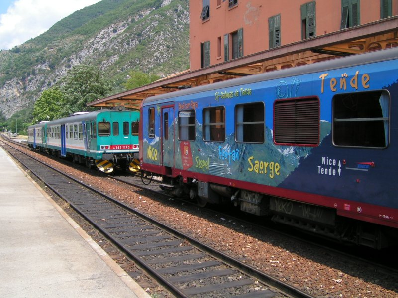 Les lignes Breil-Nice et Vintimille-Tende en difficulté